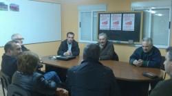 281113 Primeira reunión de traballo do secretario provincial de Xuventudes