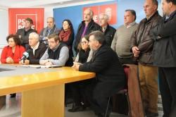 231213 Os socialistas únense para esixir á Xunta un plan de emprego para a provincia
