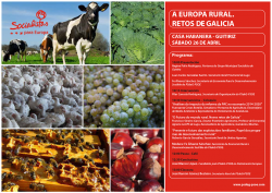 O PSdeG-PSOE conmemora o Ano Internacional da Agricultura Familiar cunha xornada informativa en Guitiriz sobre a importancia das explotacións pequenas para a base do medio rural da UE
