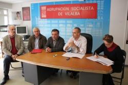 Os socialistas e UUAA alertan de que máis de 3.000 gandeiros  e produtores da Terra Chá perderán case o 9% das axudas  da PAC en 2014