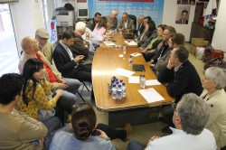 Os socialistas lucenses inician en Vilalba as mobilizacións a favor  da xustiza de proximidade co mantemento dos Partidos Xudiciais