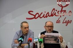 """O documento """"Lugo quere AVE"""" e unha partida extraordinaria de 6 millóns para a 1ª fase da Intermodal, novas medidas emprendidas polo PSOE para que a provincia non quede sen Alta Velocidade"""